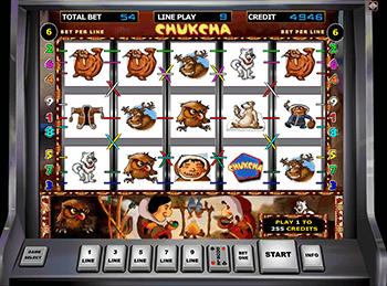 Играть бесплатно в слот Chukchi Man в Вавада