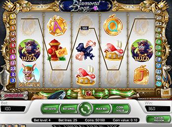 Автомат в казино Вавада - Diamond Dogs