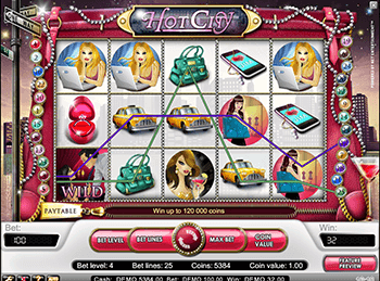 Слот Hot City в клубе Вавада