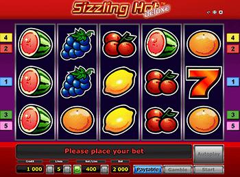 Играть в Вавада в автомат Sizzling Hot Deluxe
