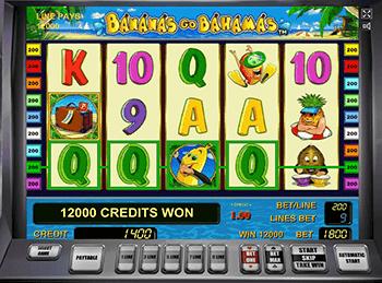 Играть в Bananas Go Bahamas в казино Вавада
