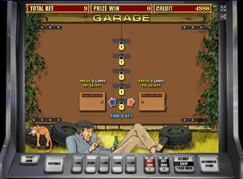 Играть онлайн в Вавада в слот Garage