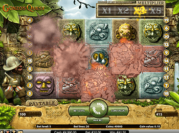Вавада зовет играть в слот Gonzo's Quest Extreme